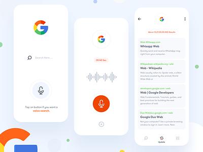 Google App flat vector art logo icon branding mobile app uidesign app design app creative ui design uiux ui