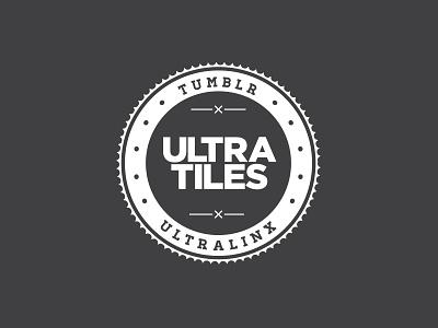UltraTiles Logo logo branding minimal ultralinx clean design minimalistic web theme tumblr style linxspiration masonry grid tile tiles