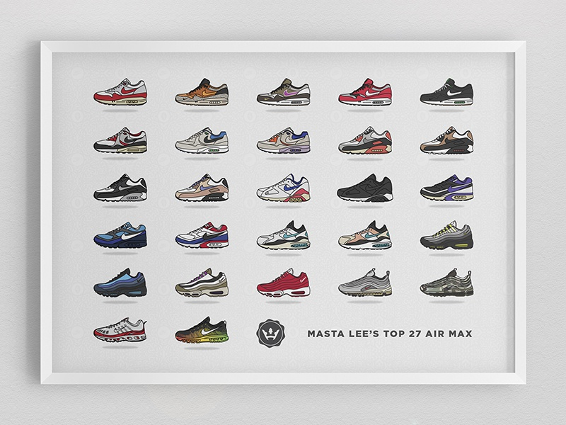 The 27 Best Air Max Models of All Time by Dan Freebairn on