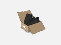 Yeezy 350 Box