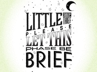 Rhymes - Lettering and Illustration