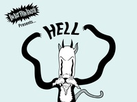 Hell Cats Poster - Gig Poster