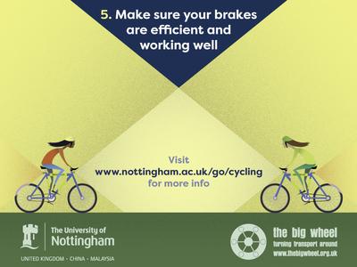 Brighten Up   Top Tips V2 info graphic cycling poster design stippling illustration design