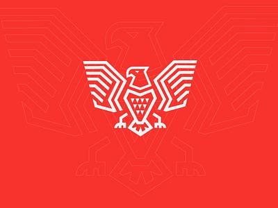 Rebranding rebrand vectors linework fire minimalist powerful red eagle rebranding redesign simple symbol brand icon vector mark minimal identity branding logo