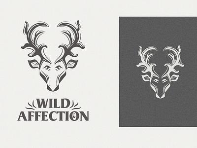 Wild Affection identity mimimal branding vector symbol modern minimalist illustraion packaging mascot logo simple logo memorable timeless identity design fresh logo ocean abstract community logo love