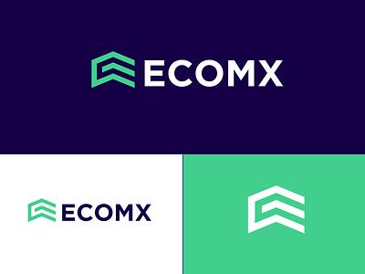 Ecomx Logo vector icon creative logo letter logo lettermark monogram modern logo design brand studio brand design brand identity mark identity logo branding design