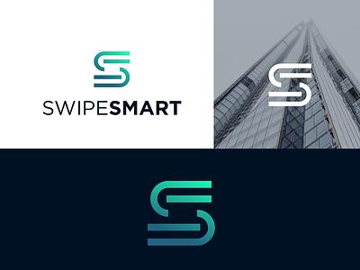 Sweipesmart letter logomark monogram clean typography symbol logotype mark minimal design identity branding logo