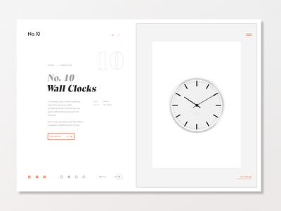 Wall Clocks ux ui design