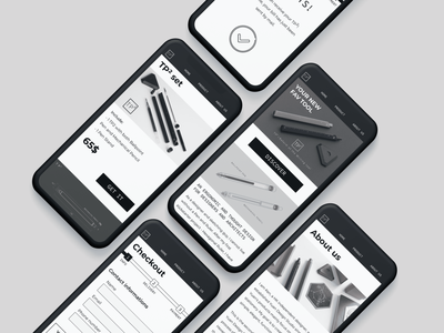 Visual Design | TP2 figma ux ui visual design mockup mobile ui mobile