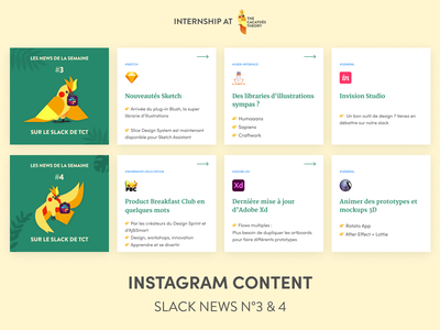 The Cacatoès Theory - Instagram : Slack News news slack slider post it linkedin instagram post instagram cacatoes