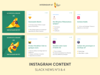 The Cacatoès Theory - Instagram : Slack News news slack slider post it linkedin instagram post instagram cacatoes