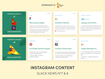 The Cacatoès Theory - Instagram : Slack News slider cacatoes insta instagram post linkedin socialmedia instagram news slack