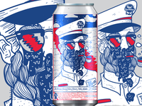 Pabst can art submission