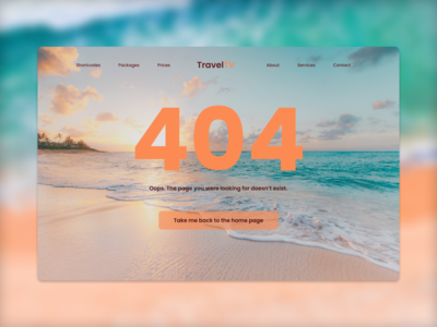 Daily UI :: 008 - 404 Page web typography website ux minimal grid ui flat design alignment