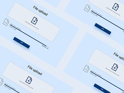 Daily UI :: 031 - File Upload flat alignment minimal design uploading upload file ux ui ui design uploader upload file manager file upload file