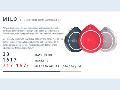 Daily UI :: 032 - Crowdfunding Campaign design crowdfunding campaign campaign crowd funding crowdfund crowdfunding