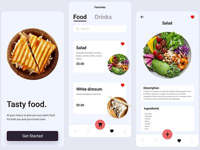Daily UI :: 044 - Favorites favourites favourite favorites favorite mobile app app design mobile app design application app flat minimal ui alignment design