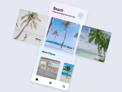 Daily UI :: 045 - Info Card app design mobile app design info card info app application flat minimal ui alignment design