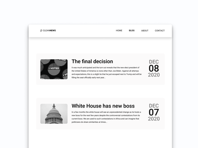 Daily UI :: 051 - Press Page web website flat minimal ui alignment design press kit press page press
