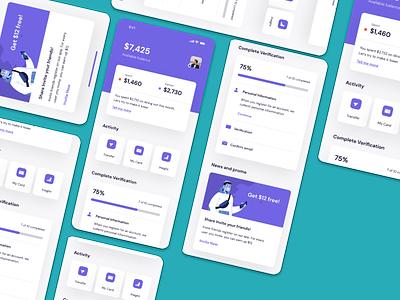 Bank App UI KIT – Android Studio finance screen app