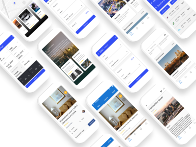 Travel Screen for Android App