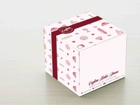 Pastry Box Packaging Design