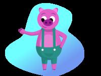 Piggy | Character Design