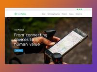 Xenmatics Corporate Website Design