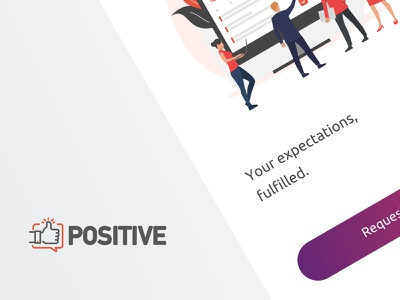 Positive - A project expectations management app positive ui uxui ux mobile design tasks taskmanagement app milestones milestoneapp projects project managment iphoneapp mobileapp