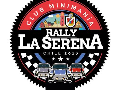 Logo para evento en la Serena Chile, Adhesivo Troquelado