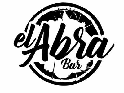 Diseño de logo, bar Abrakadabra, Melipilla Chile. identity minimal lettering type icon illustration flat vector branding design logo