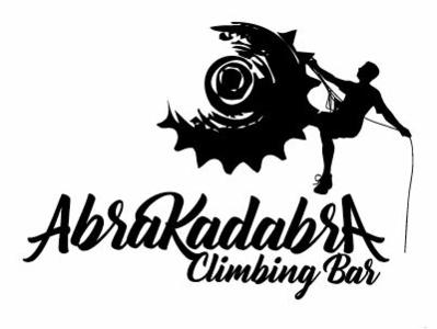 Diseño de logo, para bar Abrakadabra, Melipilla Chile. type minimal lettering identity icon illustration flat vector branding logo design
