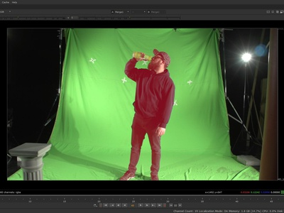 Rotoscopia en NUKE 11 rotoscopia nuke video video animation design