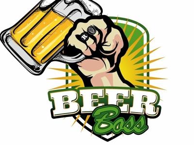 Logo para marca de cerveza chilena. BeerBoss