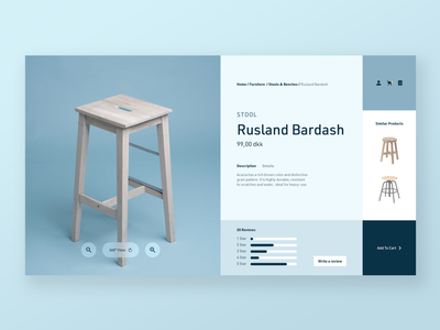 Furniture Shop - Concept