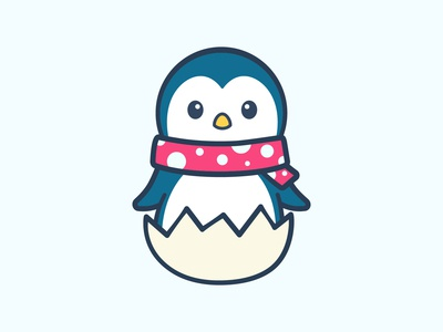 Baby Penguin Scarf