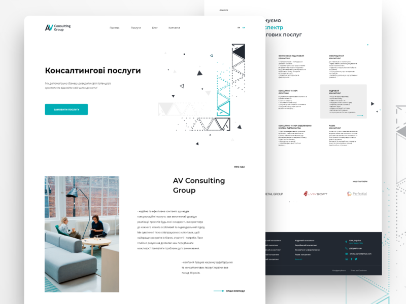 Consulting Group. Landing minimalism landing lawyers law services consulting clean landing page landing design modern web inspiration design uidesign ui