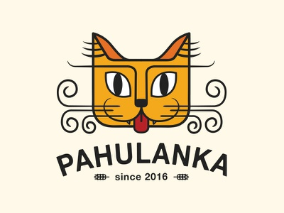 Logo for a Craft Brewery design beer cat label brand brewery illustration character logo