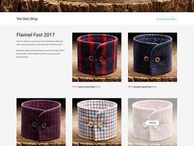 Todd Shelton brand e-commerce web user interface responsive layout website design