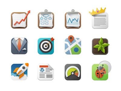 Web Icons managment wordpress theme development functionality map custom illustration icon