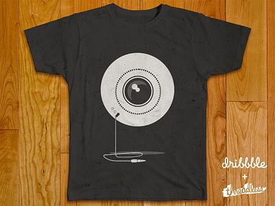 VideoNautz Threadless EDITION videonautz video nauts threadless tshirt t-shirt logo eye reflex dslr