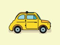 Fiat 500 Car
