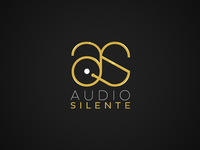Audio Silente logo | Enhanced version