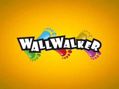 Wallwalker logo design
