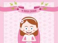 Funny cards and portraits for communion cards & special events