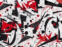 Constructivism Society6 Artprint