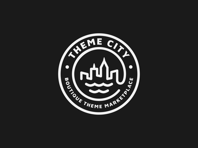 Theme City Logo vector logo branding
