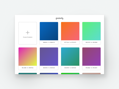 Gradienty Website ui website gradient