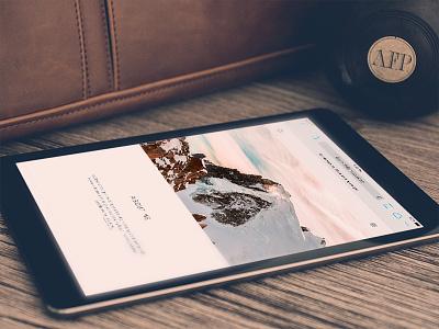 Personal website - Michele Mazzucco minimal clean ui icons website navigation ux logo mobile personal responsive portfolio