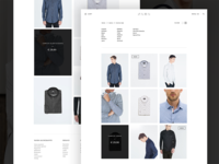 E-commerce redesign